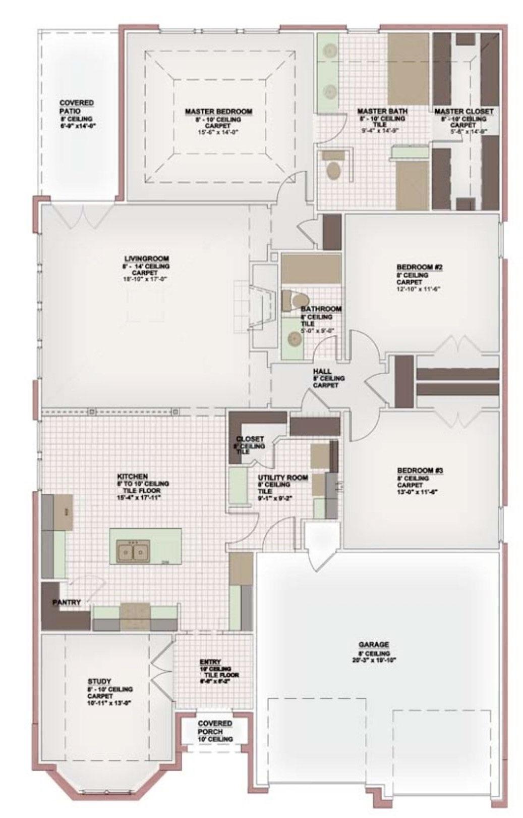 Bordeaux Floor Plan