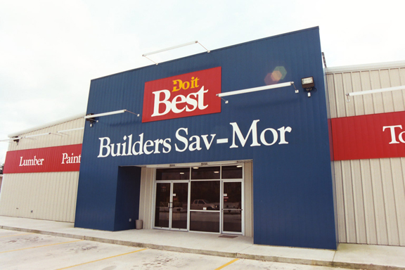 Tulsa Home Remodeling Rigid Global Buildings Commercial Retail Center Outside
